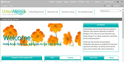 Bright and Coloful Intranet