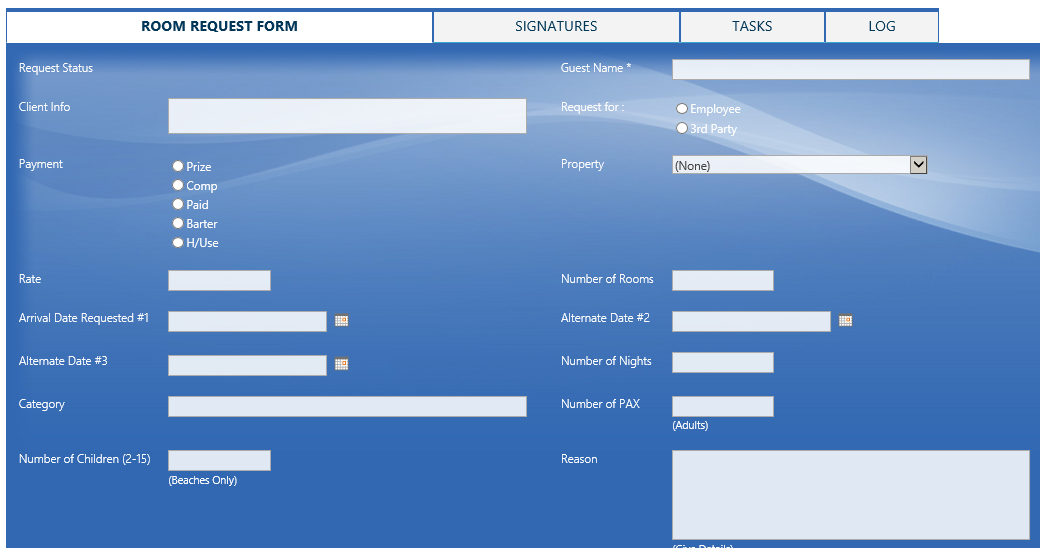 E-Form for process automation