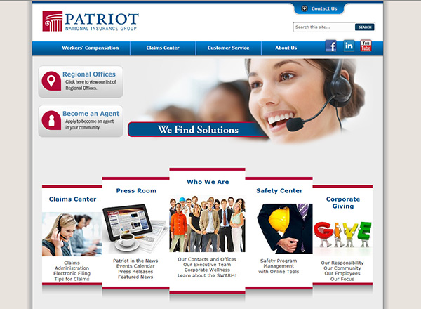 Patriot National Insurance Group Screenshot