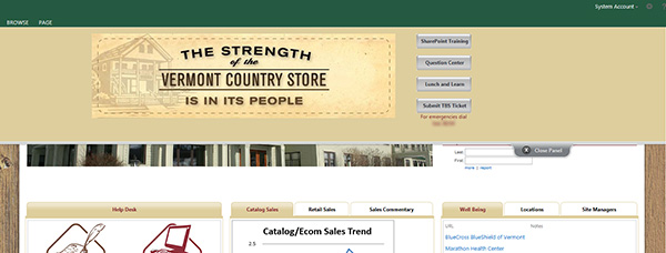 Vermont Country Store Screenshot