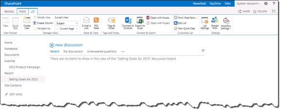Tips for SharePoint Discussion Boards - SharePoint Knowledge Base